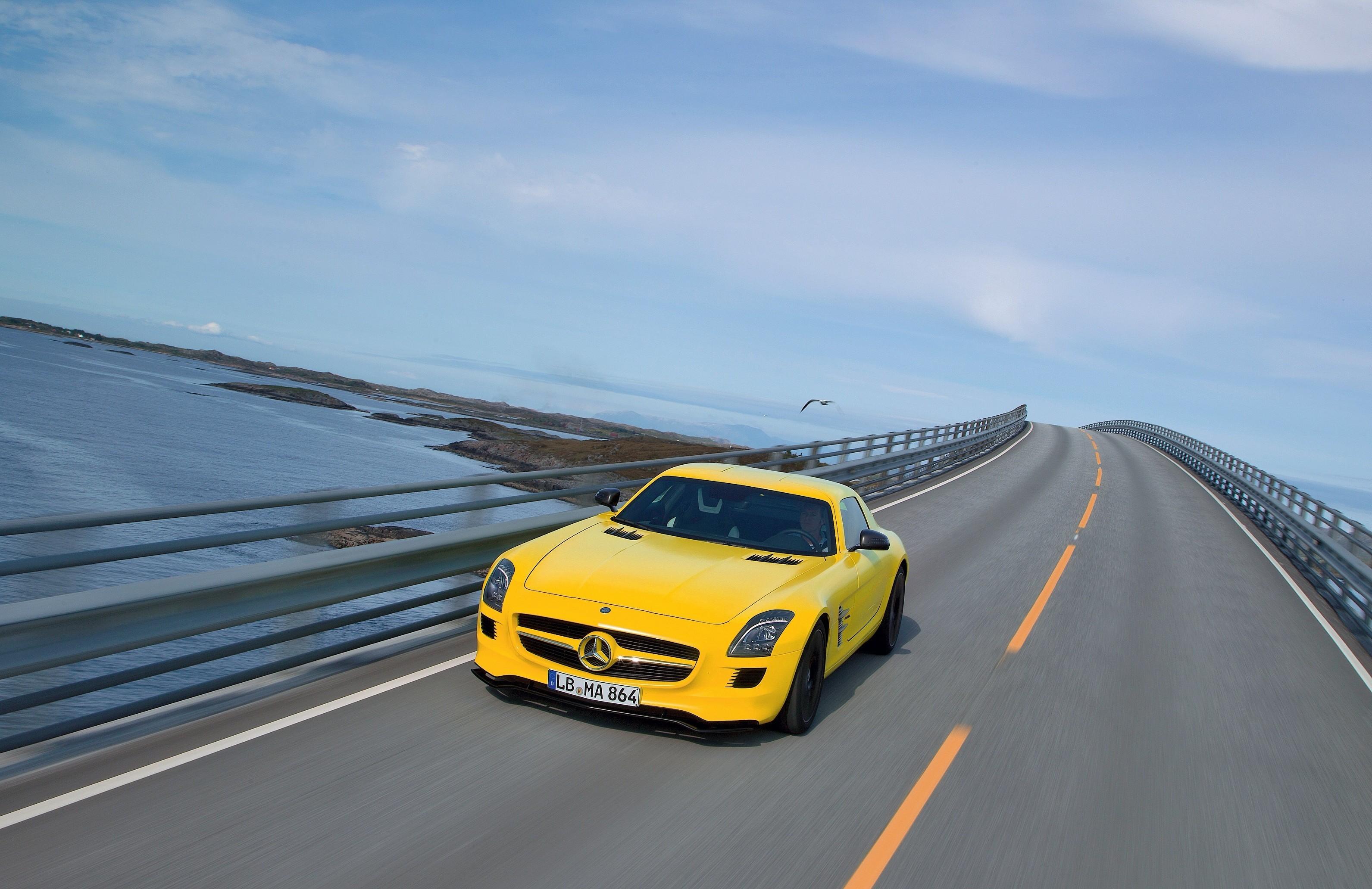 零气缸超跑 全新感受奔驰sls 高清图片
