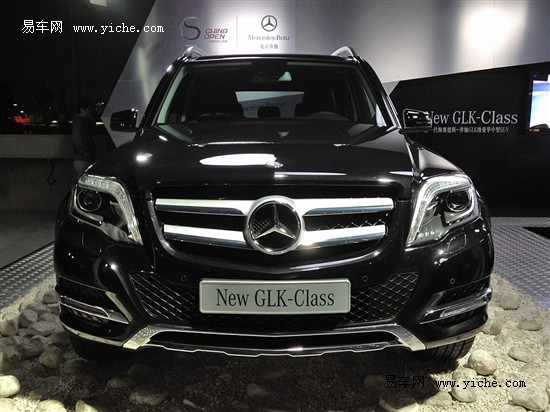 新一代奔驰GLK正式上市 售41.8-55.8万元