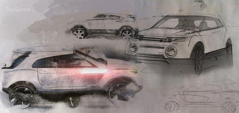 【路虎lrgt概念车手绘图曝光双门个性设计