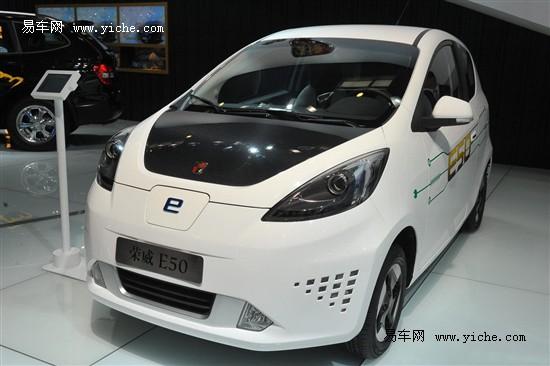 荣威E50电动车11月5日上市 可续航190公里