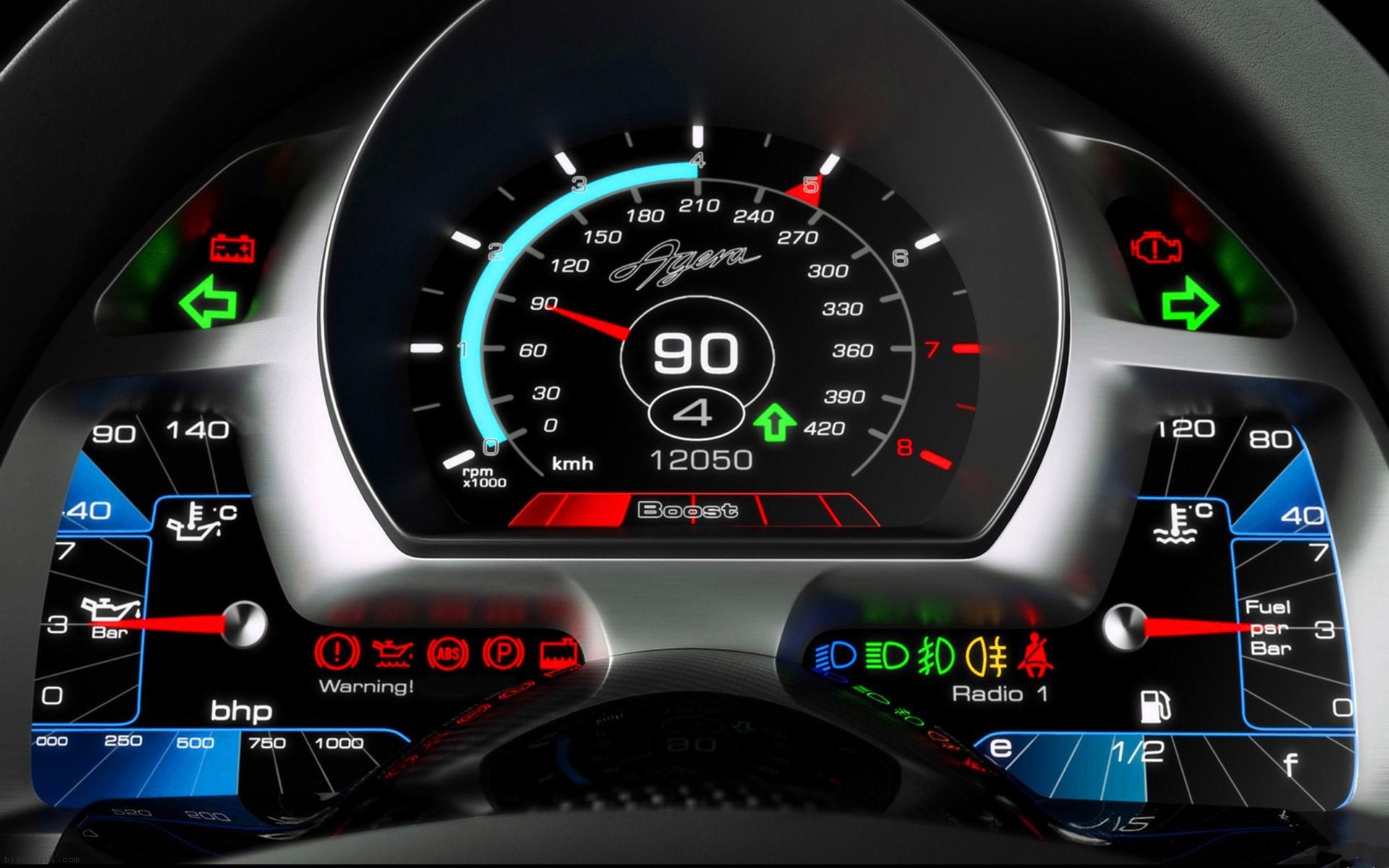 汽车车速里程表分为滚轮计数器和点距液晶屏式