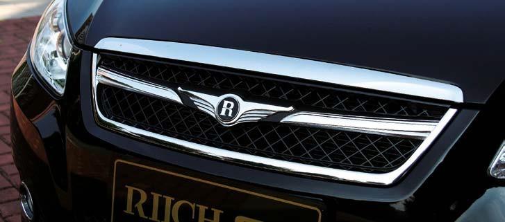 瑞麒   的标志熠熠生辉,让整个车头显得精致而典雅.车身侧面高清图片
