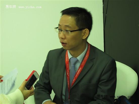 车展专访乾通北现总经理——高虎先生