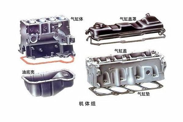 发动机曲柄连杆机构图片