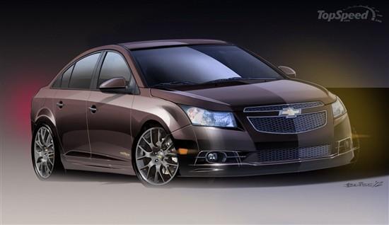 2013款科鲁兹高端概念车亮相SEMA改装展