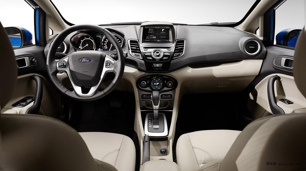 2014款福特嘉年华海外发布 造型更加运动