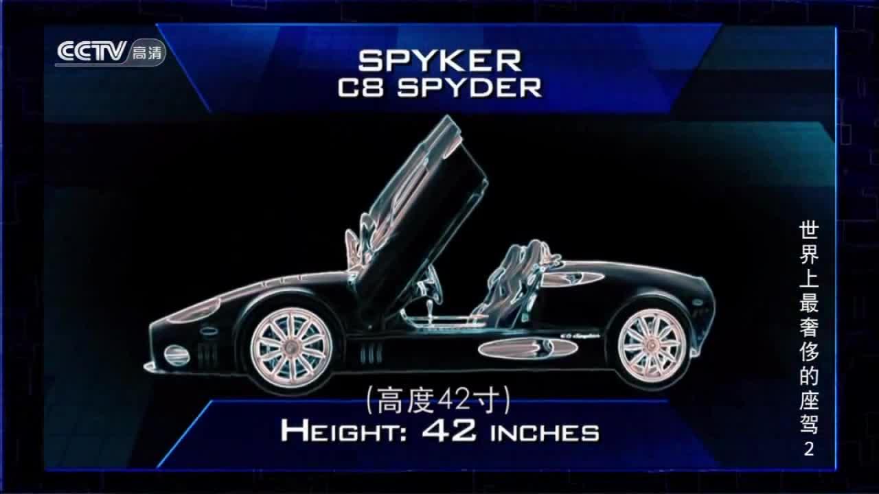 世界上产量极低的超级跑车!世爵C8
