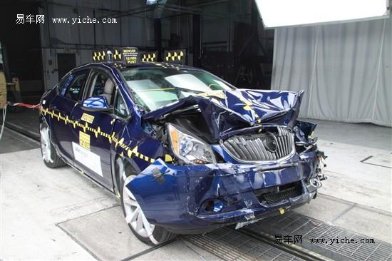 别克英朗GT获美国NHTSA碰撞测试五星成绩