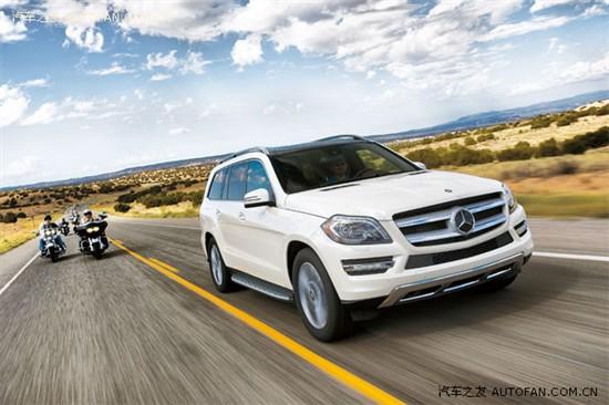 14美规奔驰GL级全国最低99万起售