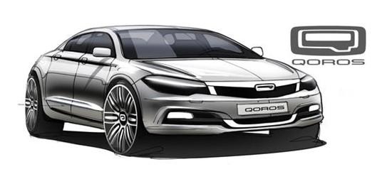 观致首款紧凑型轿车设计图曝光 明年首发