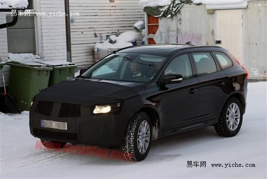 新沃尔沃XC60S60路试谍照预计今年上市