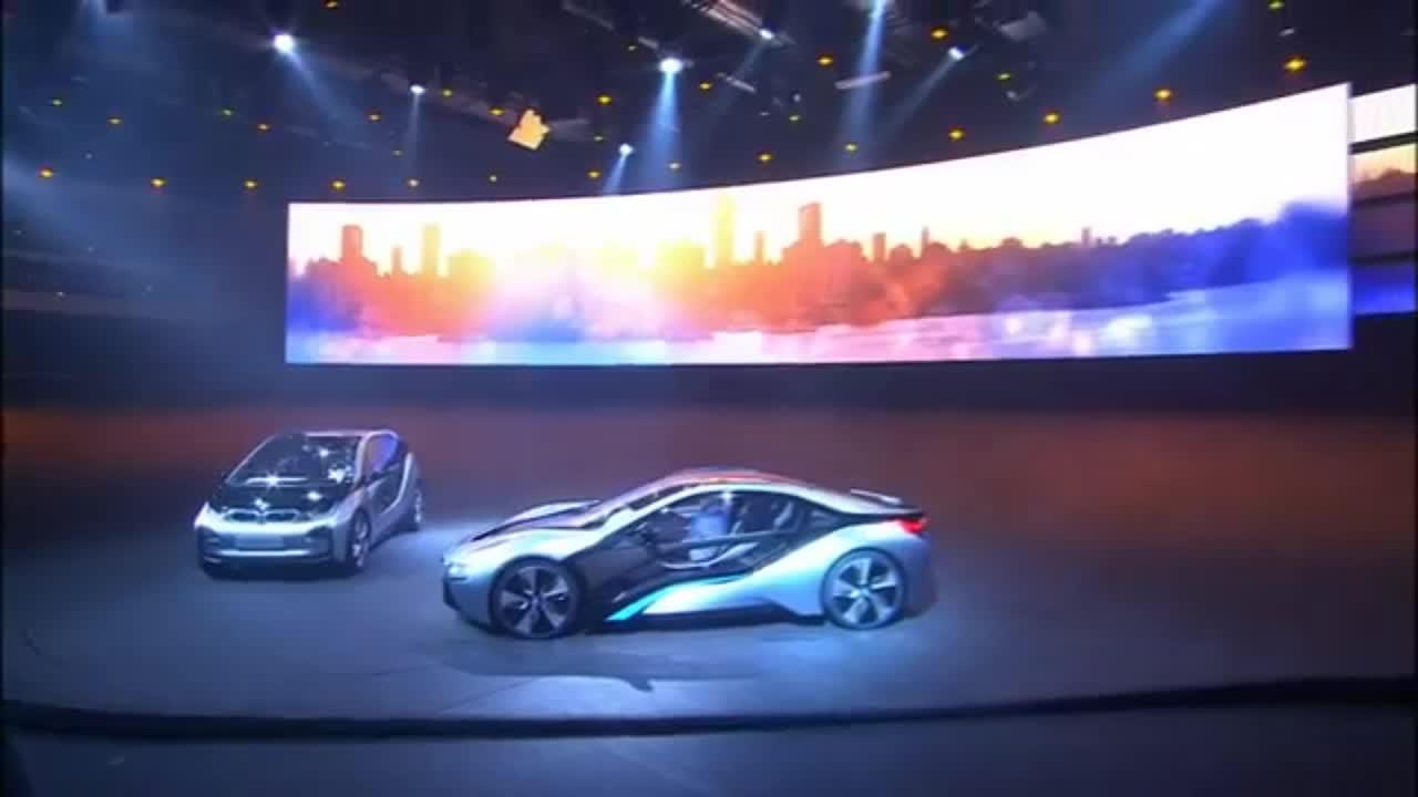 未来世界的霸主 宝马力推i3 i8概念车