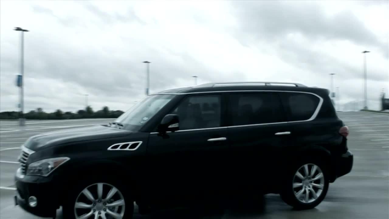 全尺寸豪华SUV 全新英菲尼迪QX56
