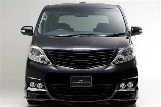 中东丰田埃尔法保姆车改装 丰田埃尔法专业内饰改装高清图片