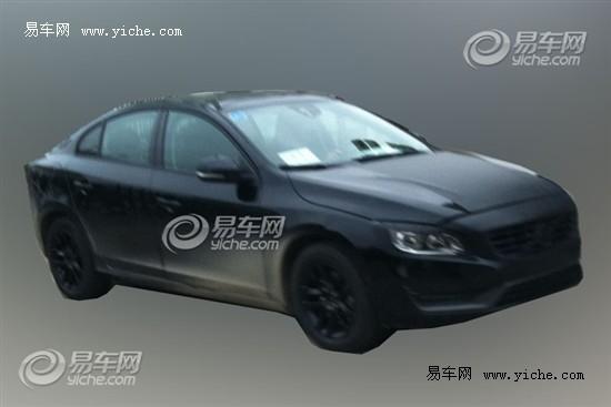 沃尔沃新S60国内谍照曝光或上海车展亮相