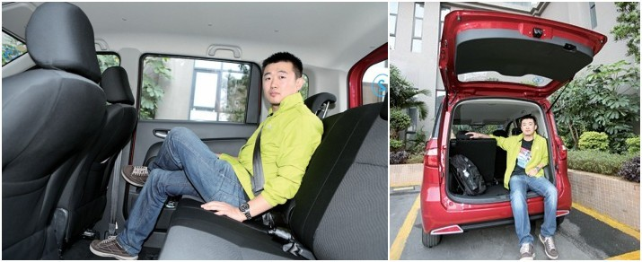 """七彩""""盒子车"""" 试驾长安汽车欧力威"""
