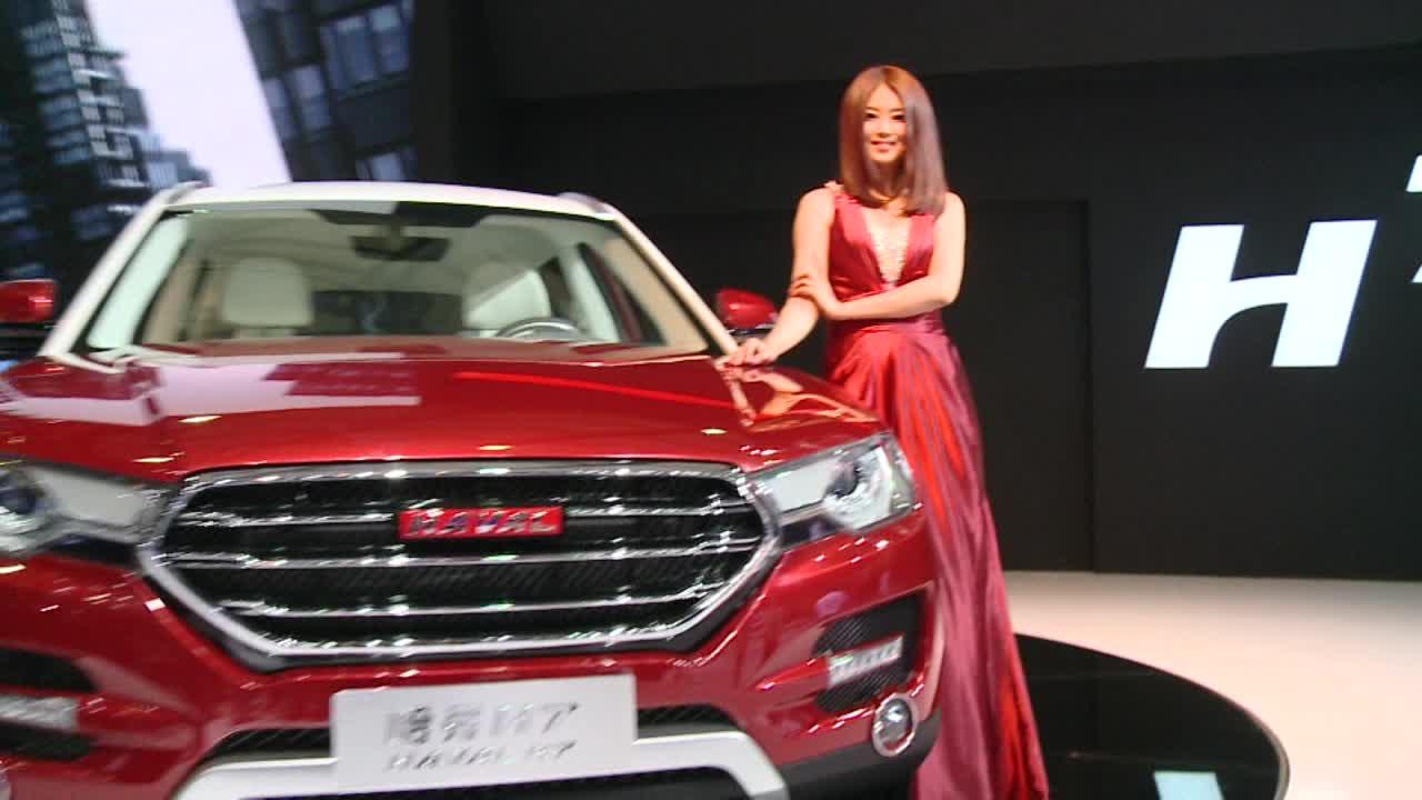 2013上海车展 长城再掀动感SUV潮流