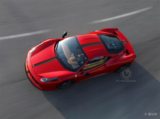 600马力的法拉利458 Scuderia将发布