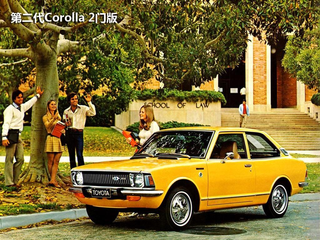 第三代Corolla最初共有三款车,分别是传统的三厢车(分2门和4门版)、VAN版和硬顶型,后来掀背式和跑车也面世了。 最初的车型提供了4中发动机,分别是1.2L 3K-H、1.4LT、1.6L 2T发动机和Levin搭载的2T-G DOHC发动机。不过由于当时的排放标准限制,只剩下只剩下1.6L 2T-U和1.4-L T-U。随后,1.