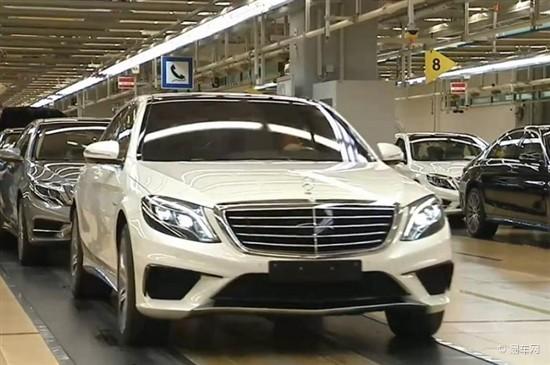 奔驰新S63 AMG实车曝光 计划2014年量产
