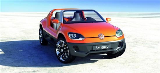 大众Buggy up将量产 9月法兰克福车展发布