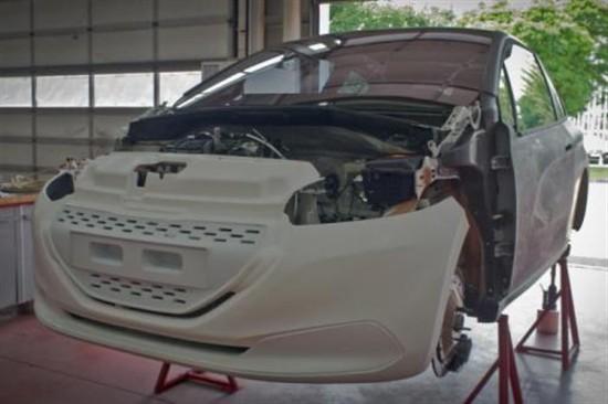 标致208混动版将于9月份法兰克福车展发布