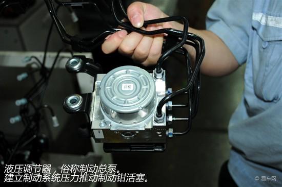 刹车的秘密 汽车制动系统介绍与解析高清图片
