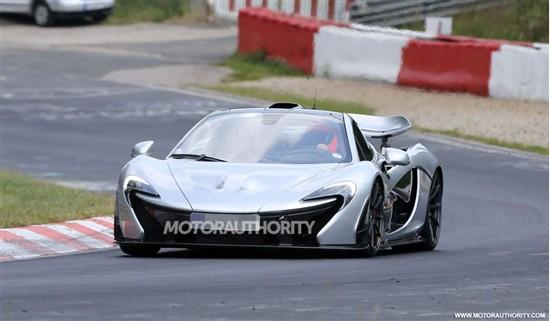 迈凯轮P1 XP2R纽伯格林赛道测试谍照曝光