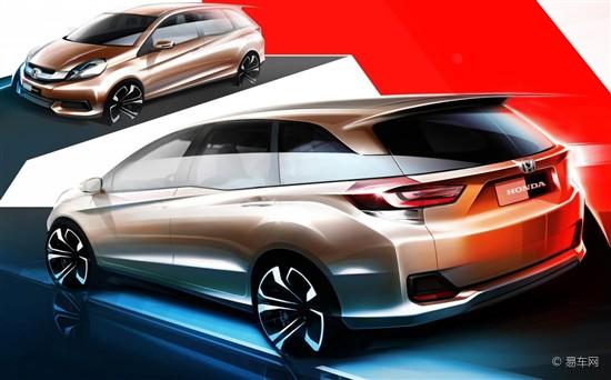 本田全新MPV设计图曝光 高性价比是卖点