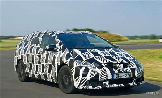 思域旅行版量产车型9月法兰克福车展亮相