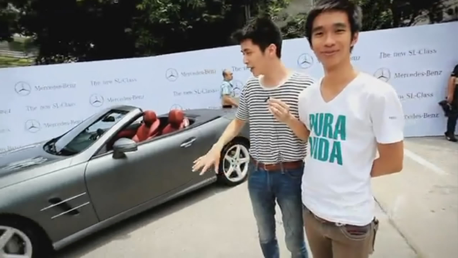 泰国奔驰SL500发布会 好兄弟邀您体验