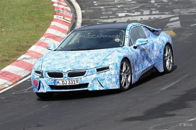 宝马i8量产版将亮相法兰克福 或明年上市