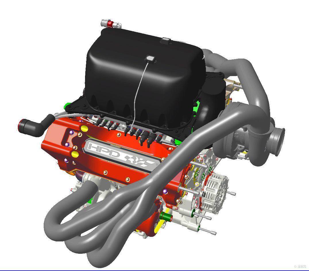 本田计划打造hr22t v6涡轮增压发动机图片