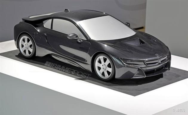 宝马i8量产版模型曝光 亮相法兰克福车展