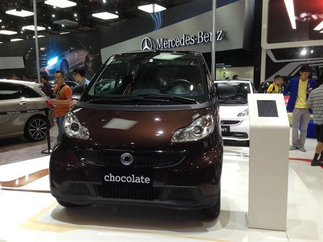 smart巧克力特别版上市 售价12.8888万