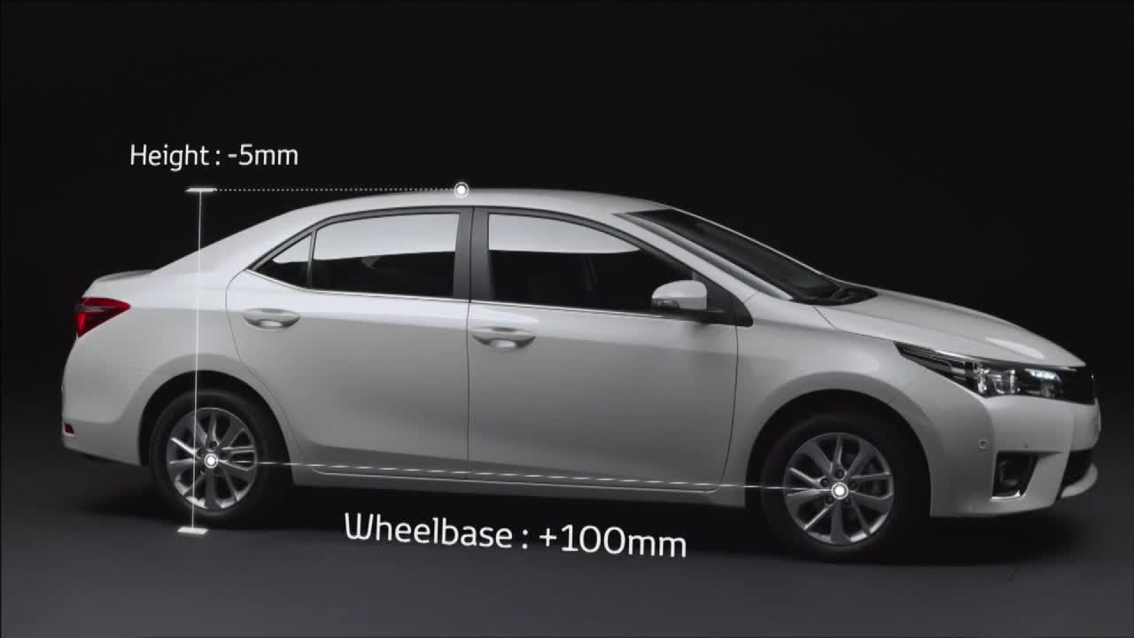 超大车内空间 全新丰田卡罗拉来袭