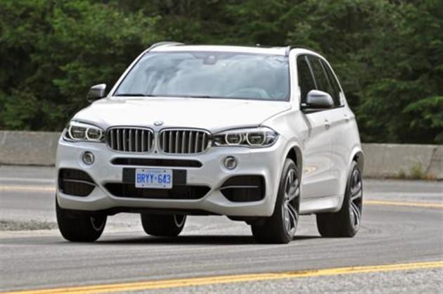 2014款宝马X5 M50d发布 搭3.0T柴油引擎
