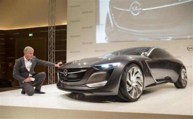 欧宝全新研发Monza概念车亮相法兰克福