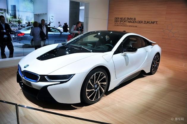 宝马i8量产版法兰克福车展发布 约售83万