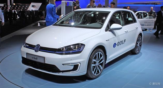 电动版高尔夫亮相法兰克福 或售4万欧元起