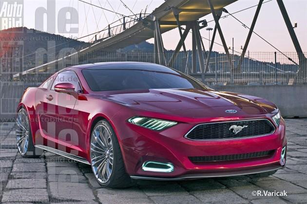 福特野马最新假想图曝光北美车展亮相高清图片