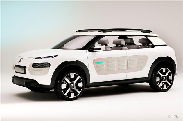 雪铁龙推新C系车型 设计源自Cactus概念车