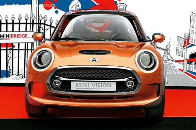 未来汽车设计语言的惊鸿一瞥 MINI VISION