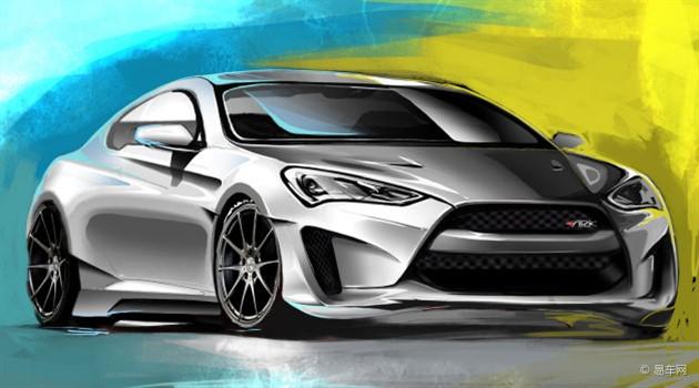 现代劳恩斯coupe改装版将亮相拉斯维加斯