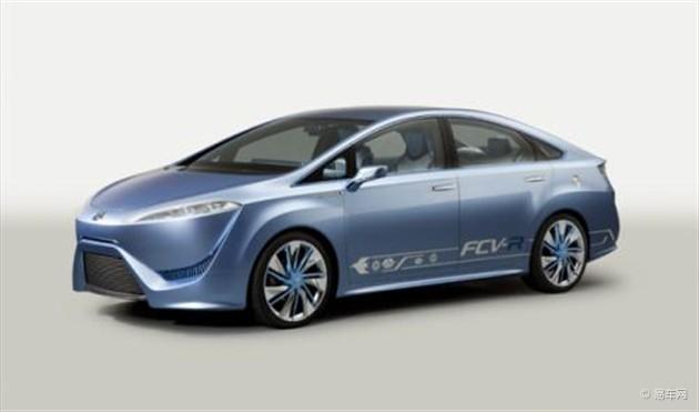 丰田将推FCV-R氢动力概念车 续航500公里
