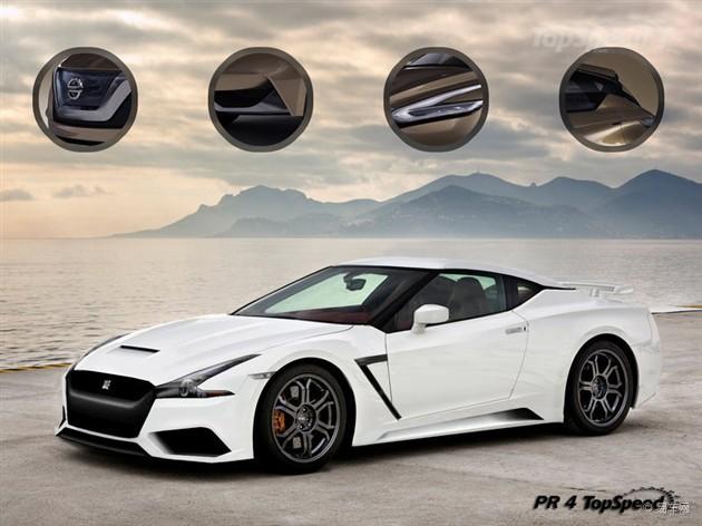 新一代GT-R引入混动系统 或2015年发布