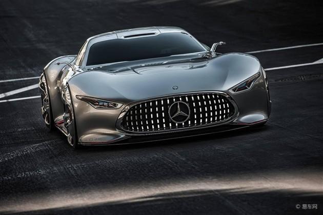 奔驰AMG Gran Turismo跑车 将于12月亮相