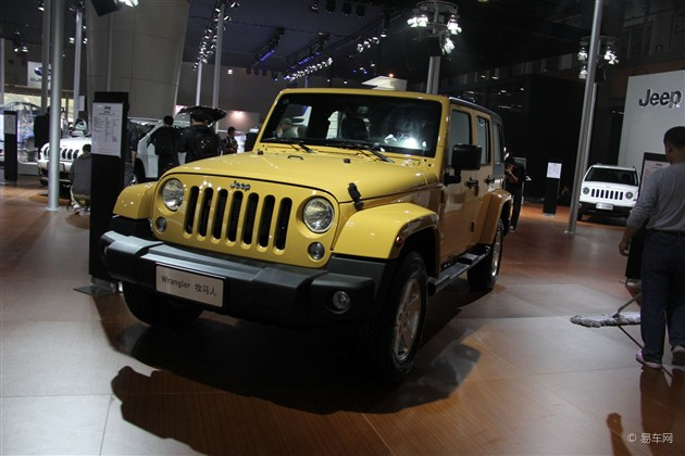2013广州车展探馆 Jeep推出牧马人3.0版