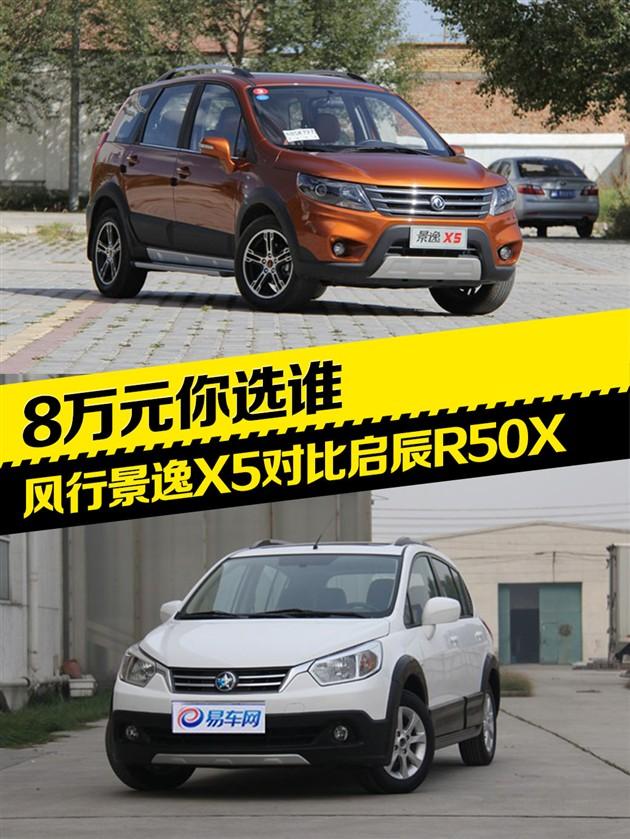 8万元你选谁 风行景逸X5对比启辰R50X
