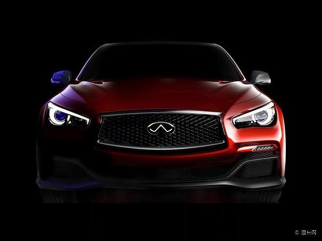 英菲尼迪Q50性能版概念车将北美车展发布